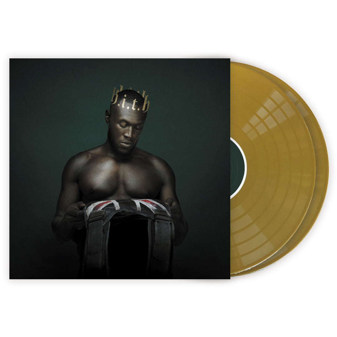 Stormzy ‎– Heavy Is The Head 2LP Gold Colour Vinyl Record Album