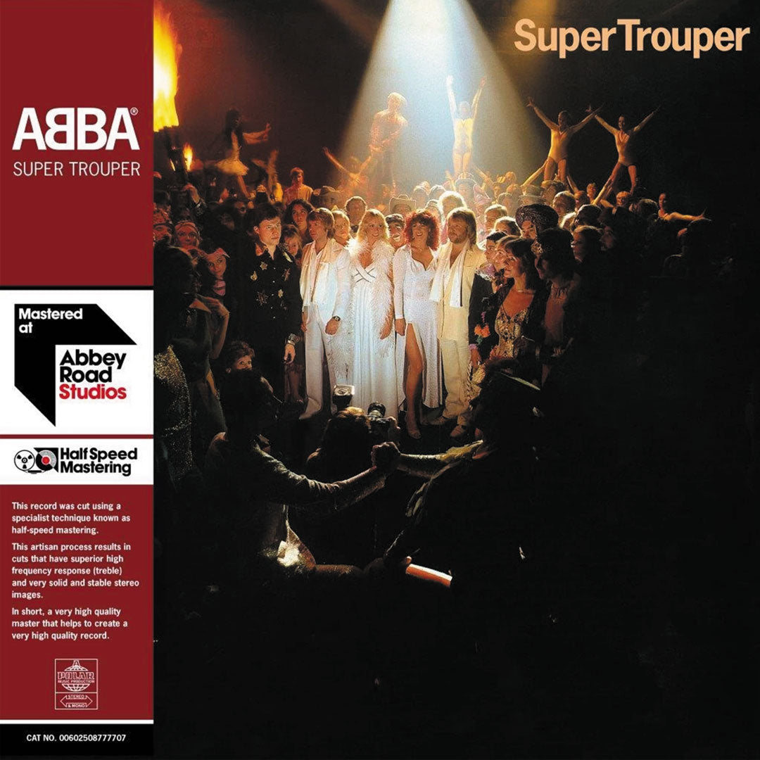 ABBA - Super Trouper  40th Anniversary Half Speed Master 180g 2LP Vinyl Record Album