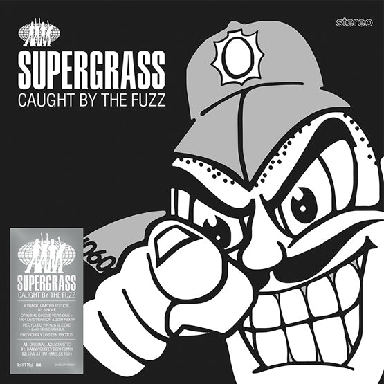 "Supergrass - Caught By The Fuzz (RSD 2020 Drop One) 10"" Recycled Colour Vinyl Record"