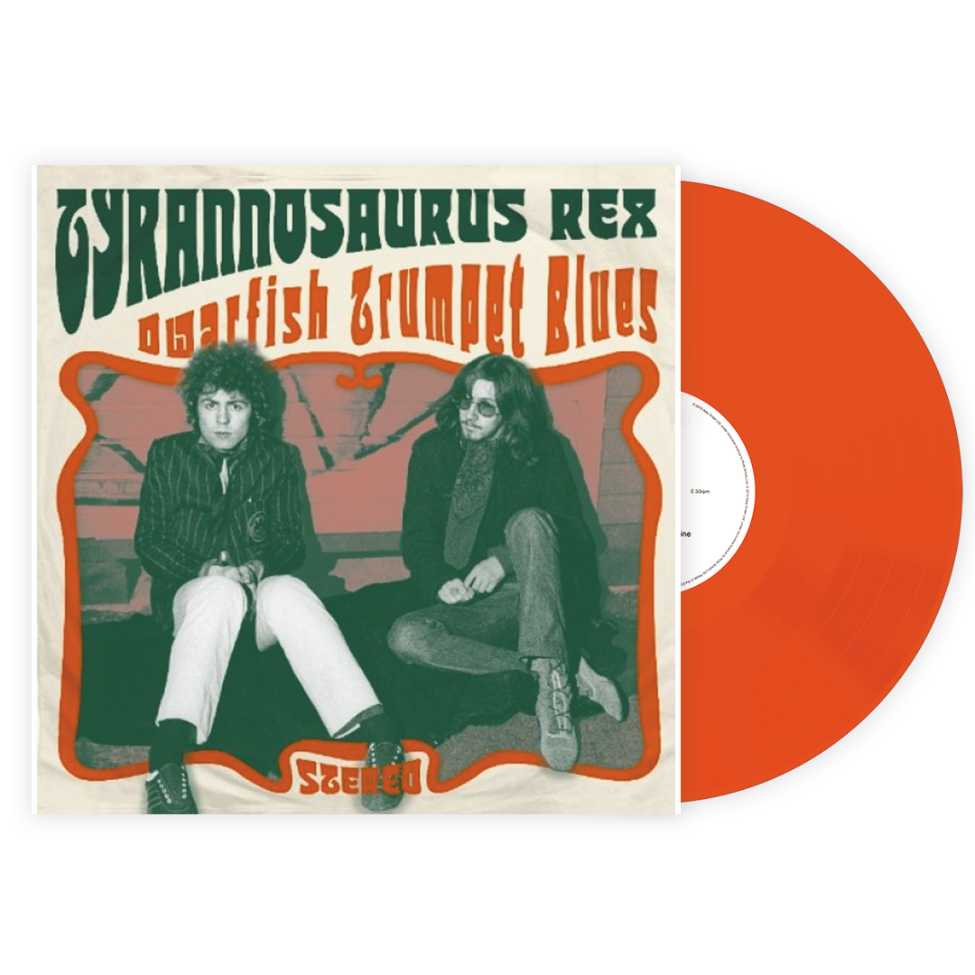 "Tyrannosaurus Rex - Dwarfish Trumpet Blues LRS Limited Orange Colour 10"" Vinyl Record"