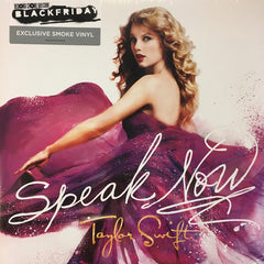 Taylor Swift ‎– Speak Now RSD Limited Smoke Colour 2LP Vinyl Record Album, Vinyl, X-Records