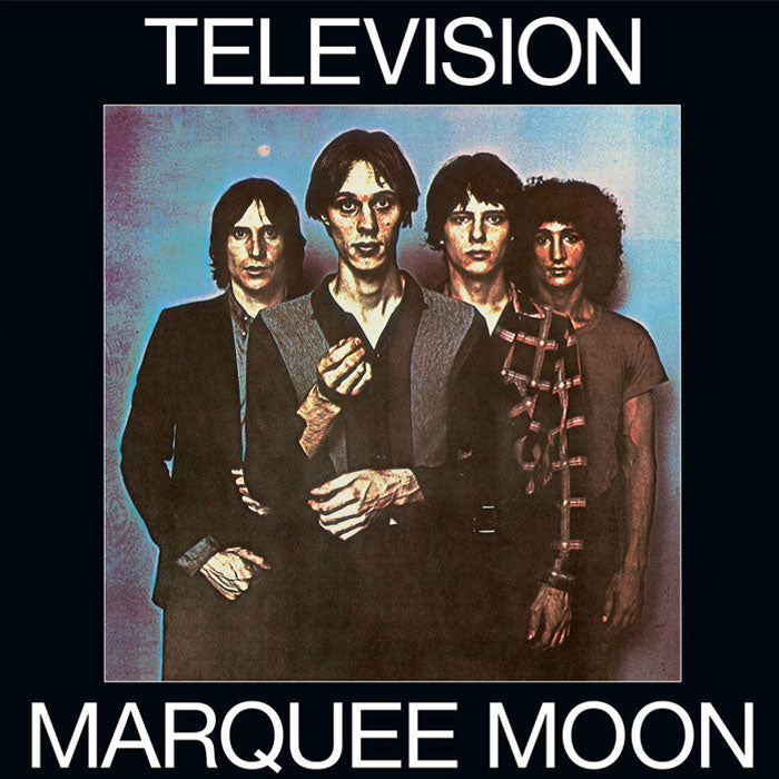 Television ‎– Marquee Moon Deluxe 2LP Blue Colour Vinyl Record Album