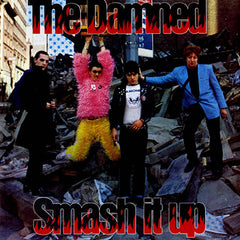 The Damned ‎– Smash It Up 40th Anniversary Red Colour Vinyl Record