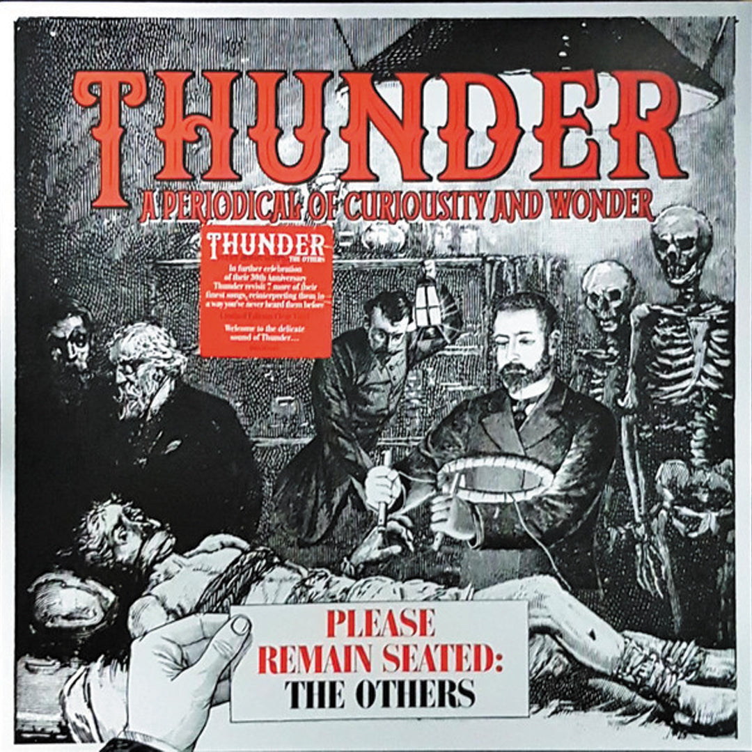 Thunder ‎– Please Remain Seated Limited Edition Colour Vinyl Record