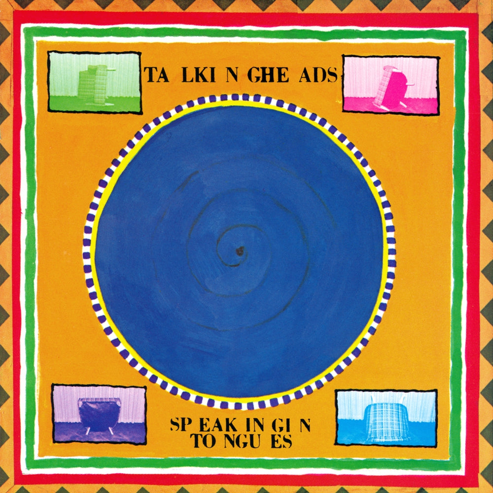 Talking Heads - Speaking In Tongues Sky Blue Colour Vinyl Record Album