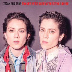 Tegan And Sara - Tonight We're In The Dark Seeing Colors (RSD 2020 Drop Two) 140g Violet & Black Splatter Vinyl Record Album