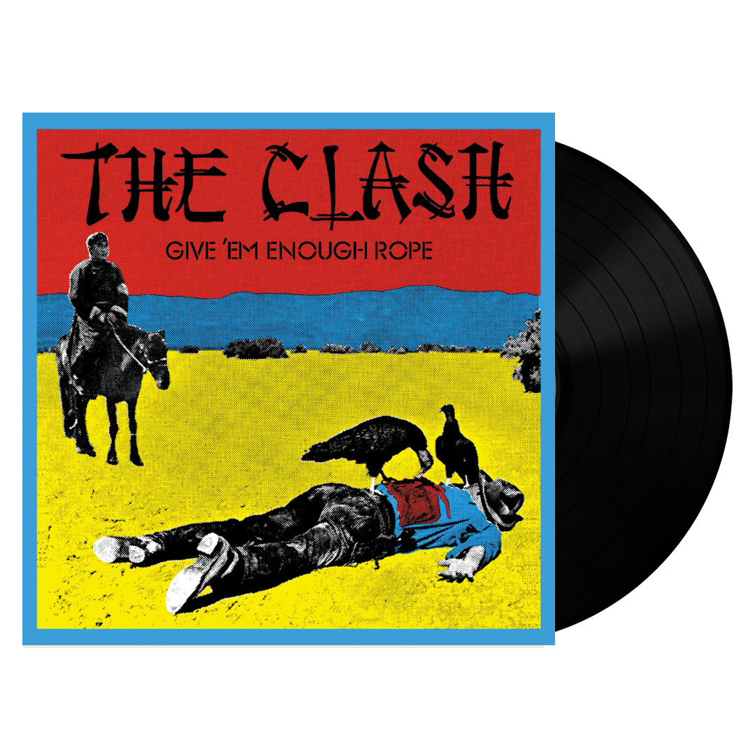 The Clash ‎– Give 'Em Enough Rope 180g Vinyl Record Album