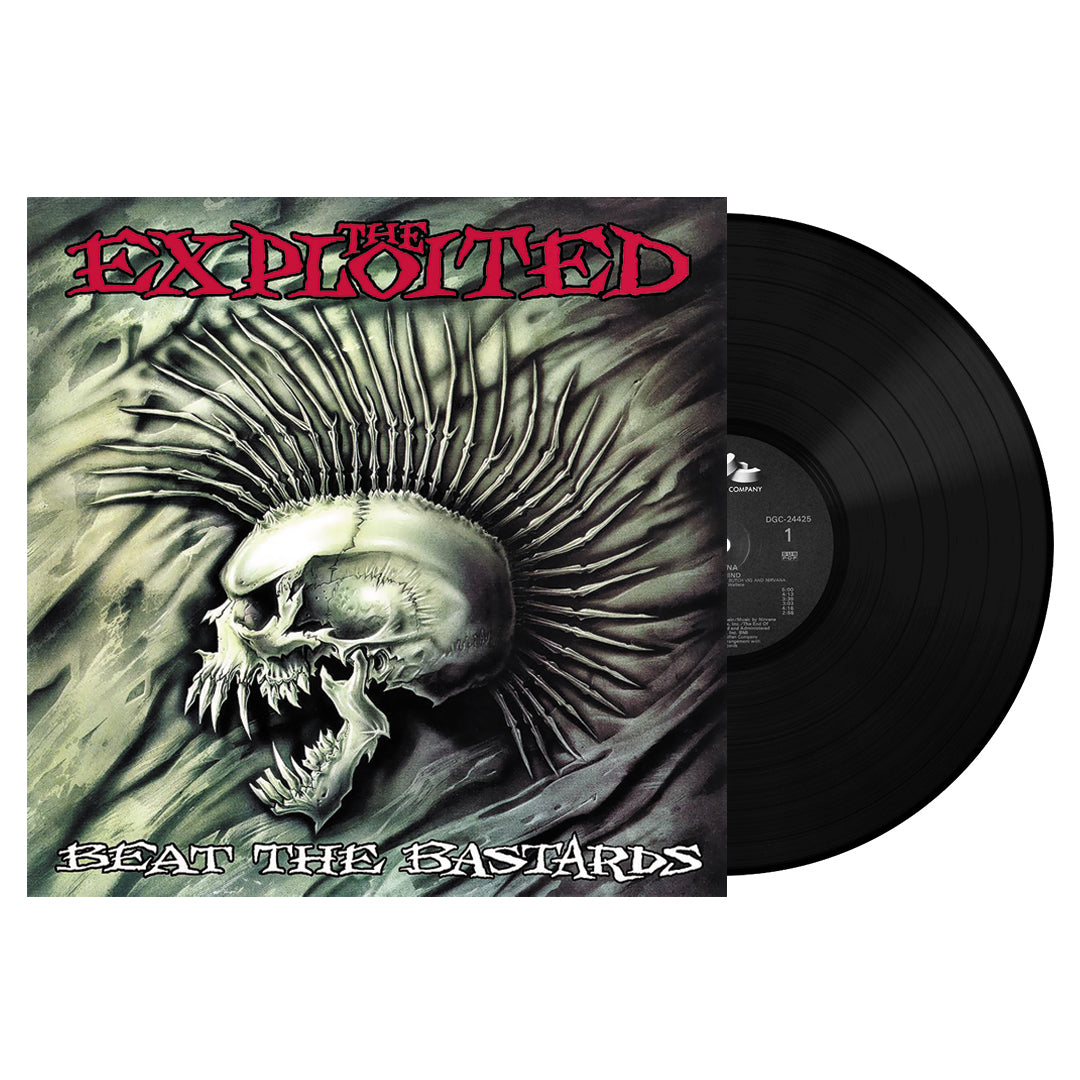 The Exploited ‎– Beat The Bastards 2LP Vinyl Record Album