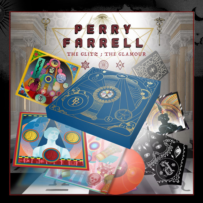 Perry Farrell - The Glitz; The Glamour Limited Edition 9xLP Vinyl Record Box Set