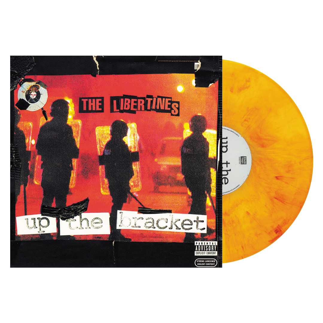 The Libertines - Up The Bracket LRS Limited Edition Orange/Yellow Marble Colour Vinyl Record Album