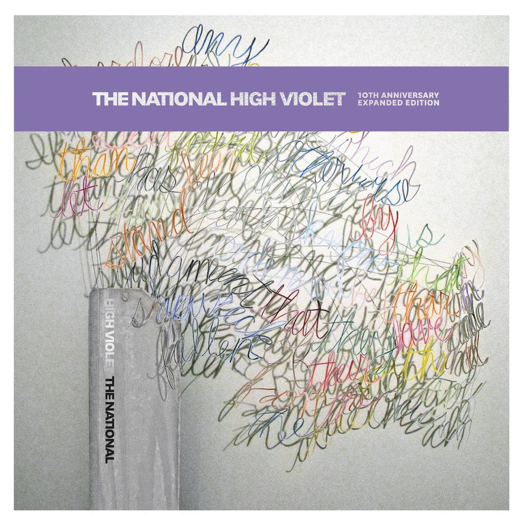 The National - High Violet Expanded Edition Purple Marbled Colour Vinyl Record Album