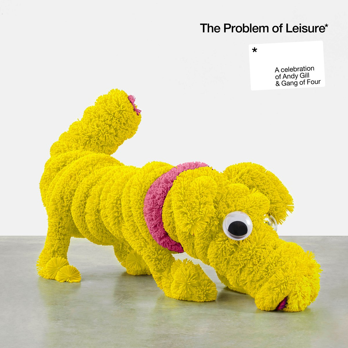 The Problem of Leisure: A Celebration of Andy Gill and Gang of Four 2LP Yellow Colour Vinyl Record Album