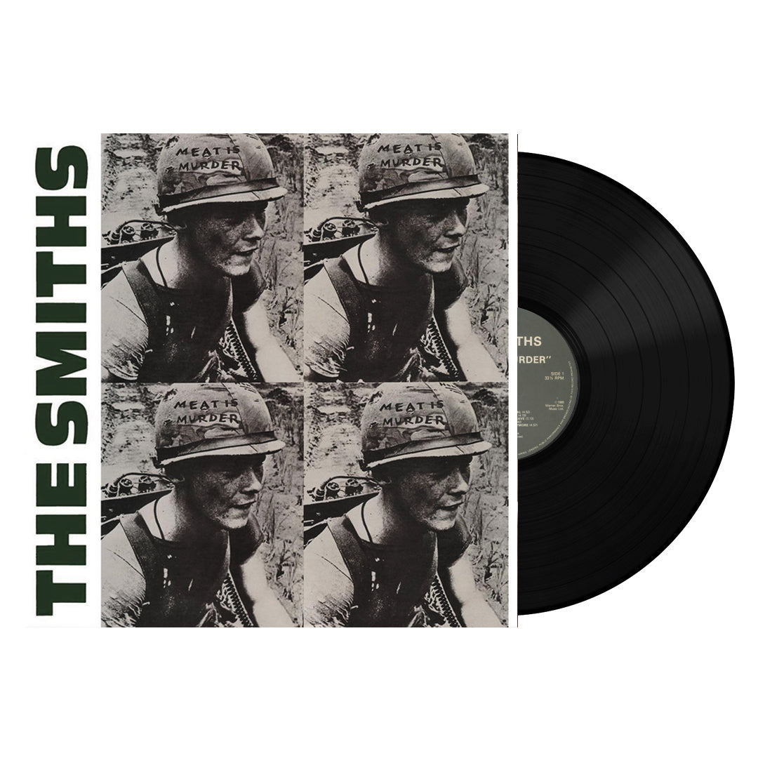 The Smiths ‎– Meat Is Murder Vinyl Record Album