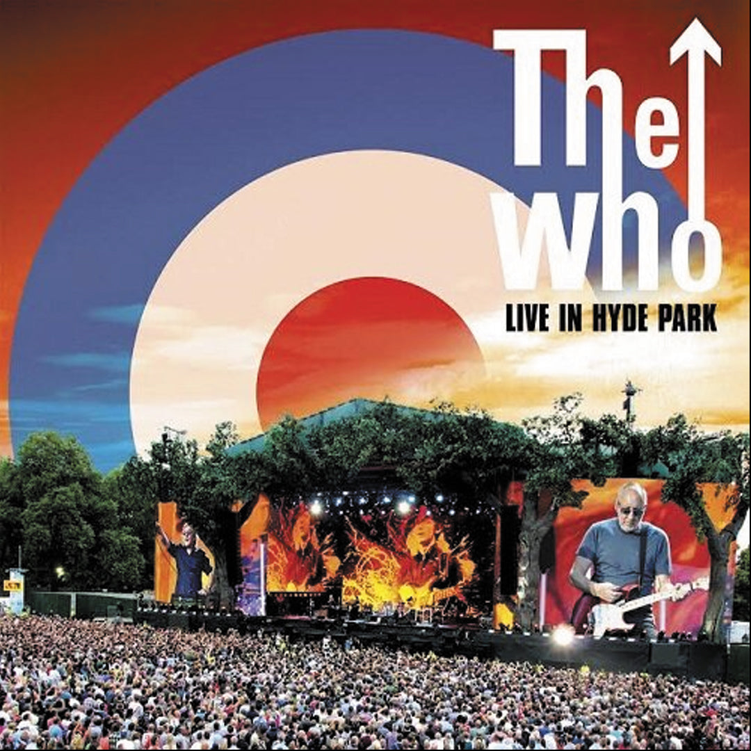 The Who - Live in Hyde Park 3LP 180g Colour Vinyl Record Album