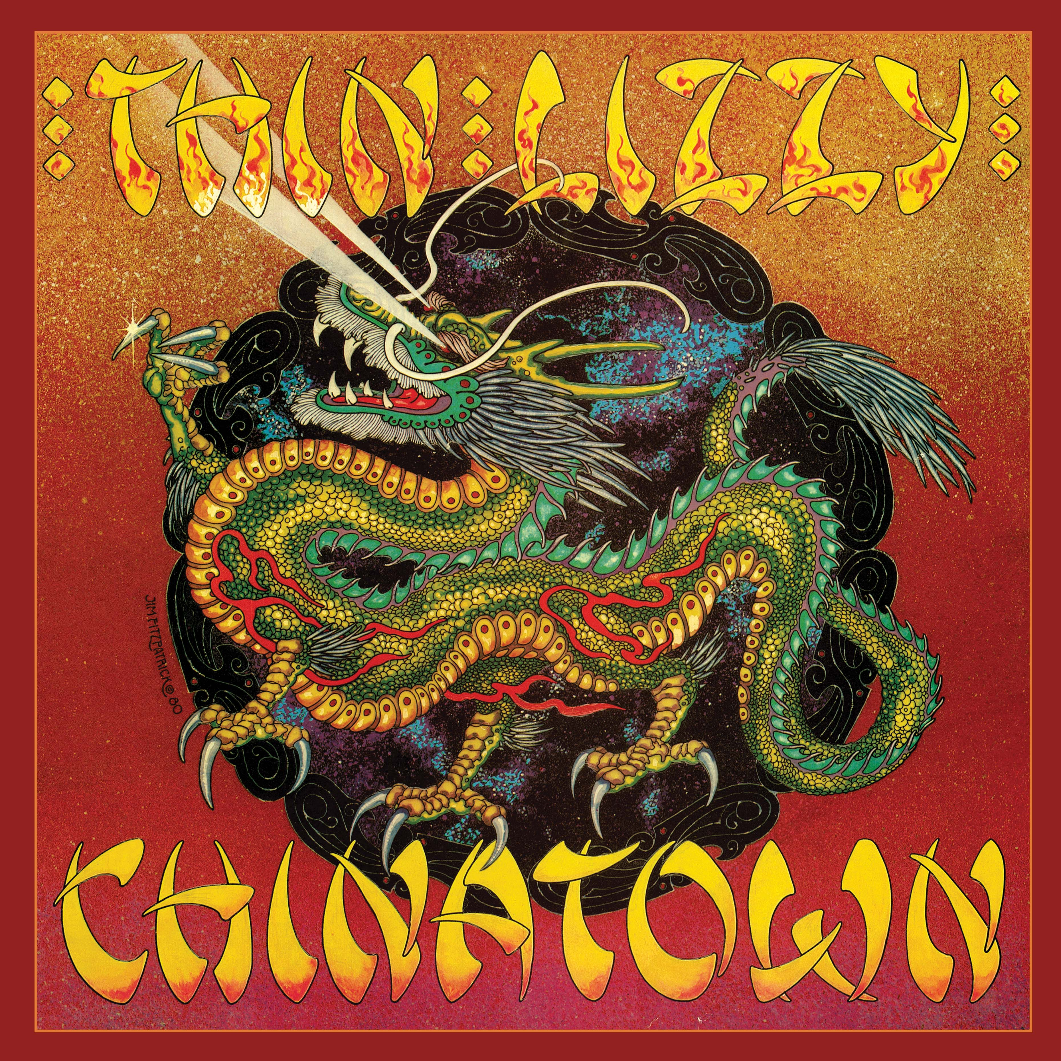 Thin Lizzy - Chinatown (RSD 2020 Drop Three) 2LP Vinyl Record Album
