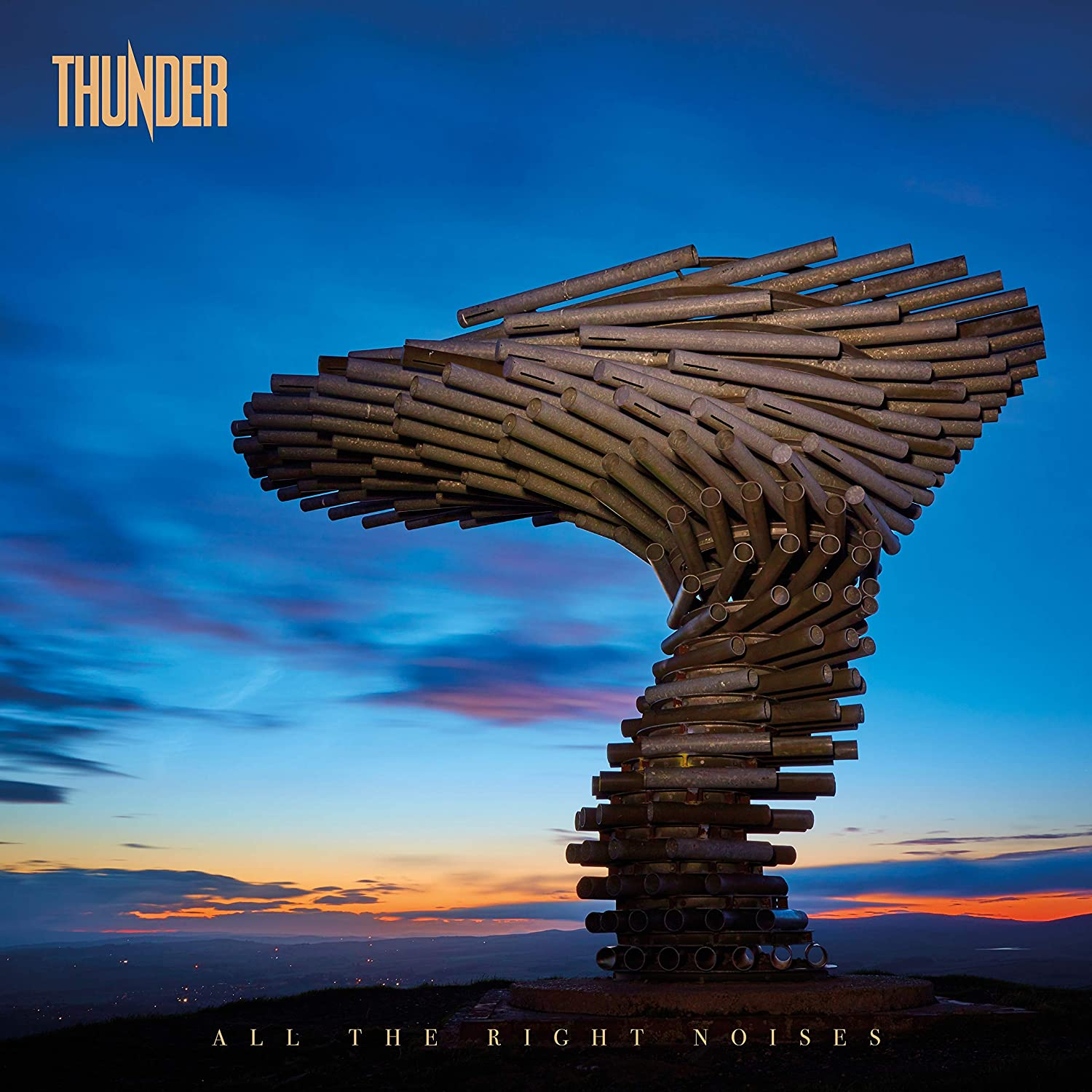 Thunder - All The Right Noises 2LP Colour Vinyl Record Album