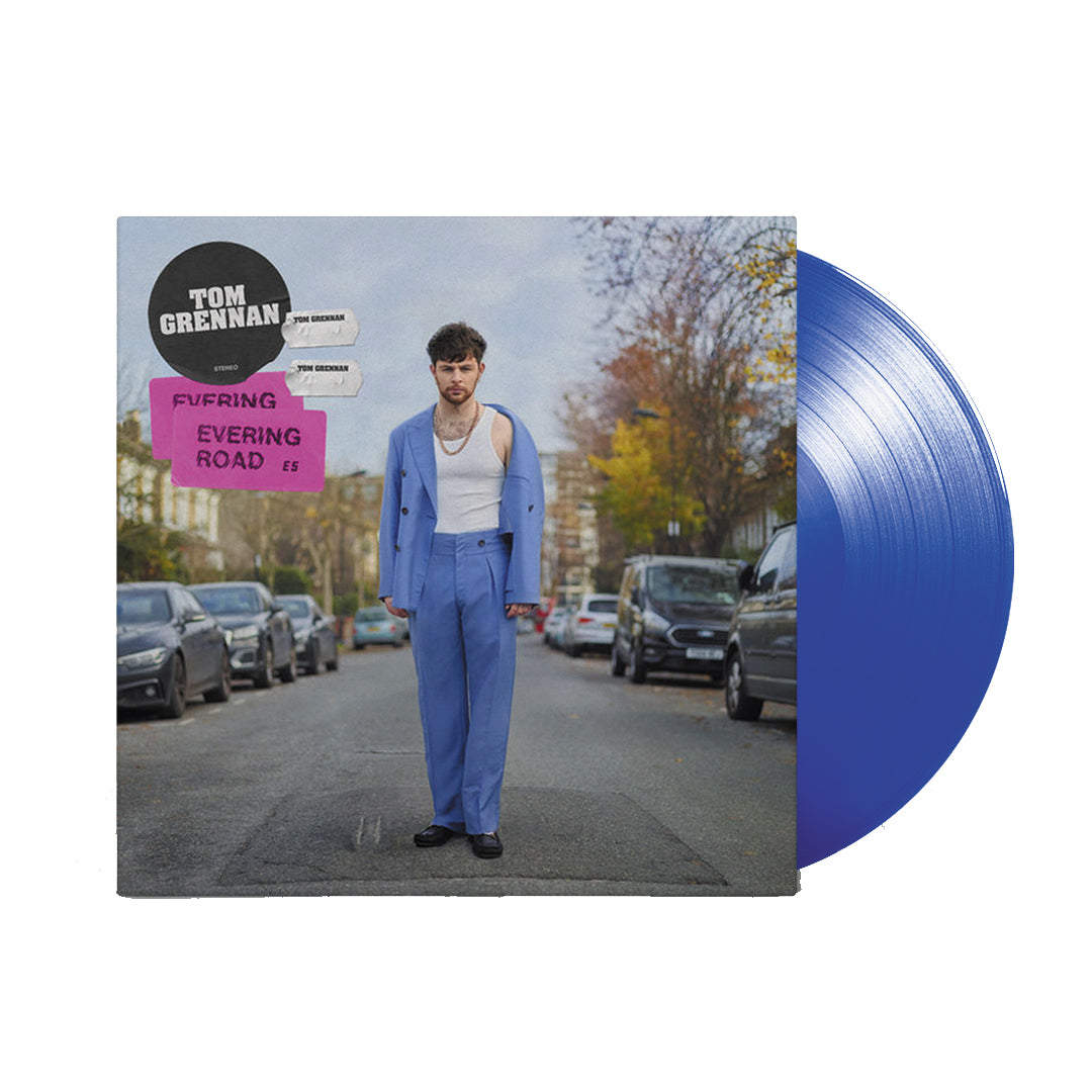 Tom Grennan - Evering Road Transparent Blue Colour Vinyl Record Album