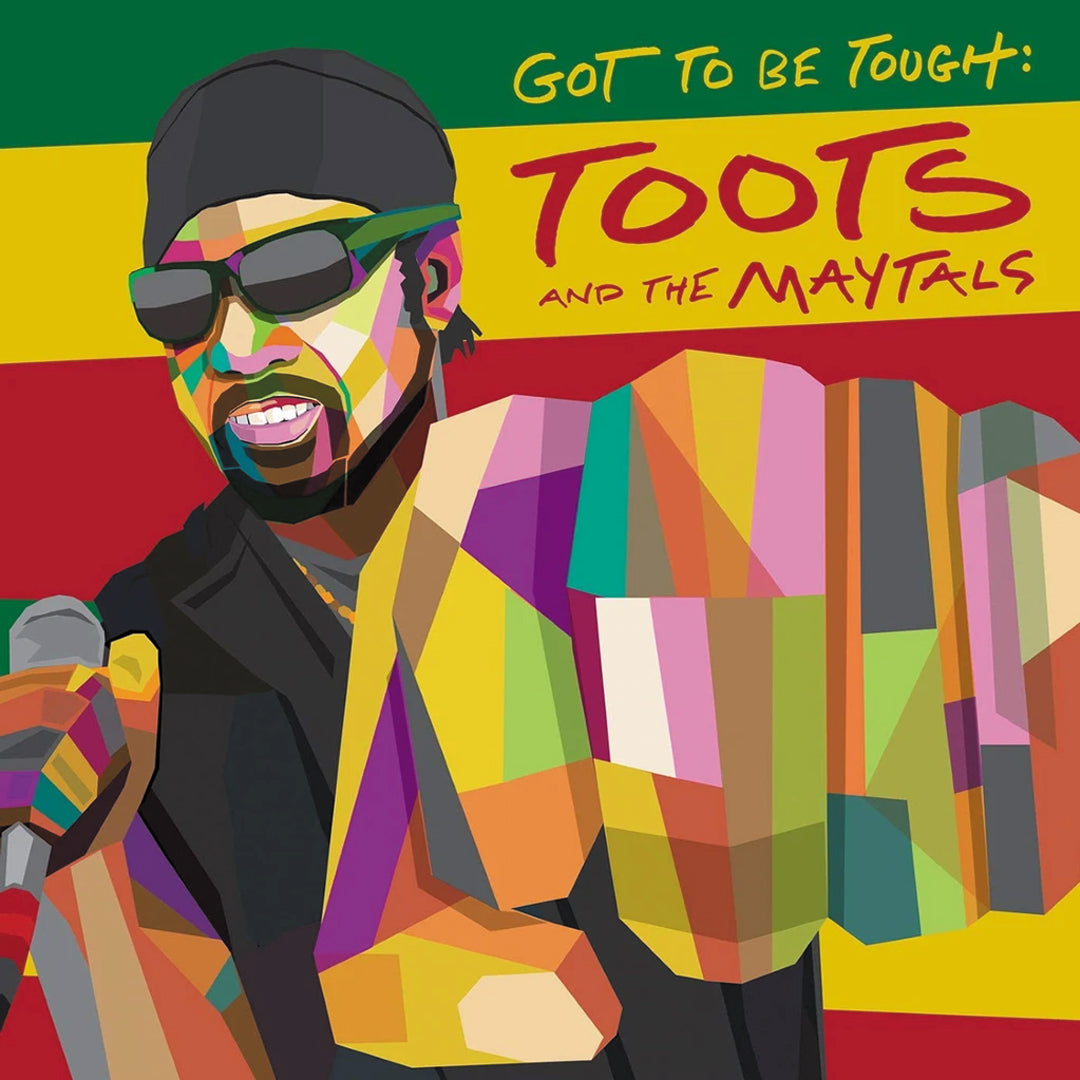 Toots and The Maytals - Got To Be Tough Limited Edition Green Colour Vinyl Record Album