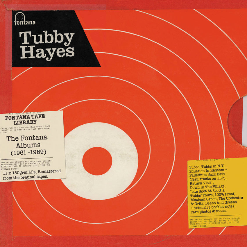 Tubby Hayes - THE FONTANA ALBUMS (1961–1969) 11LP 180g Vinyl Box Set
