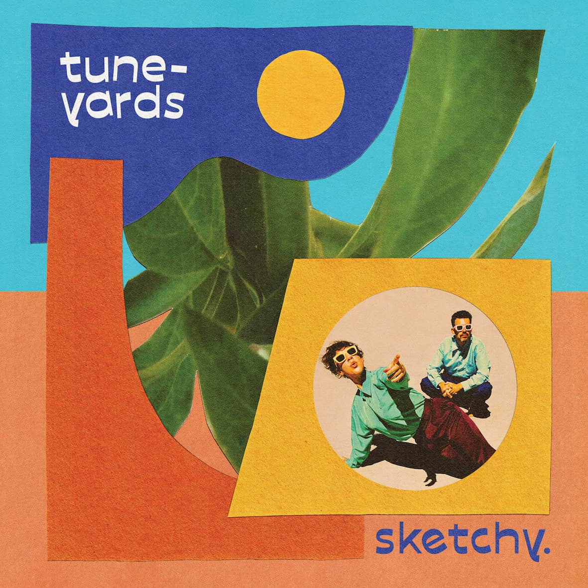 Tune-Yards - Sketchy Translucent Blue Colour Vinyl Record Album