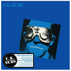 "U.K. Sub ‎– Another Kind Of Blues RSD 2019 Limited Colour 10"" Double Vinyl Record, Vinyl, X-Records"