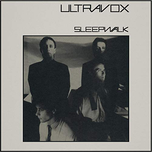 "Ultravox - Sleepwalk 2020 Stereo Mix (RSD 2020 Drop One) 12"" Clear Vinyl Record"