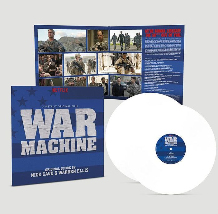 Nick Cave & Warren Ellis ‎– War Machine 2LP Vinyl Record Soundtrack