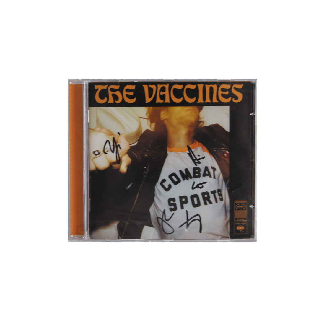 The Vaccines ‎– Combat Sports Signed CD Album