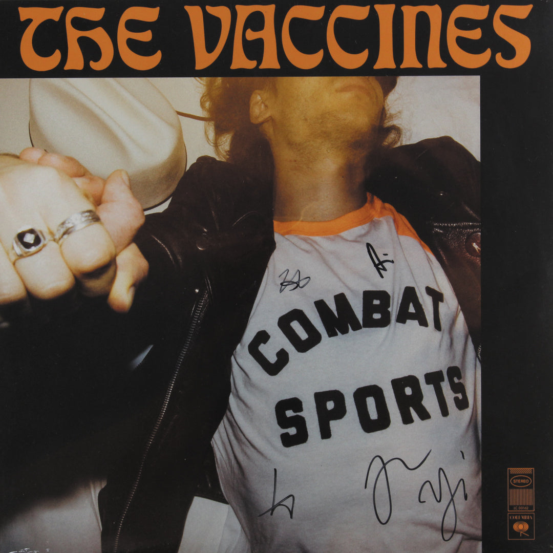 The Vaccines ‎– Combat Sports 180g Signed Vinyl Record Album