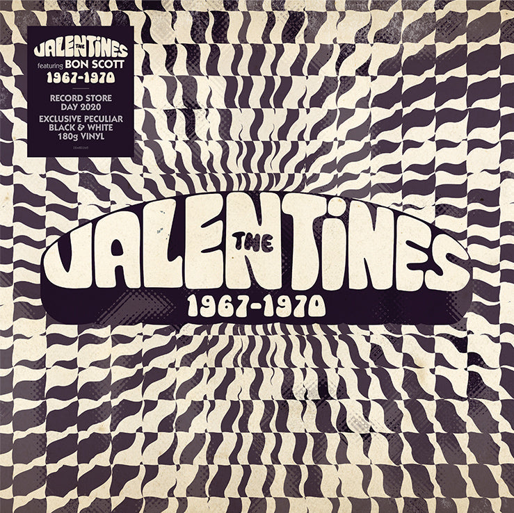 The Valentines - 1967-1970 (RSD 2020 Drop One) 180g White Black Colour Vinyl Record
