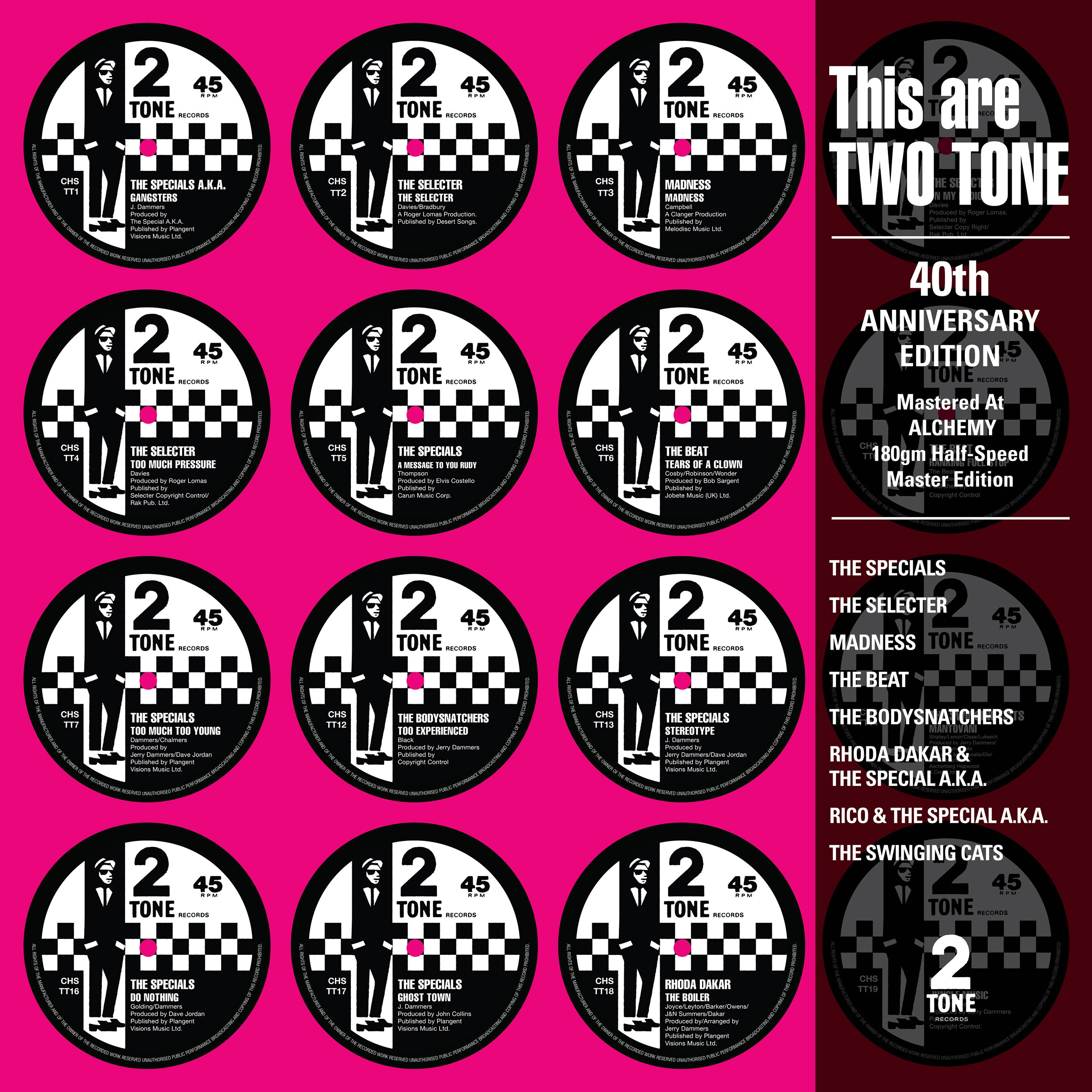 Various Artists	- This Are Two Tone (RSD 2020 Drop Two) 180g Half Speed Master Vinyl Record Album