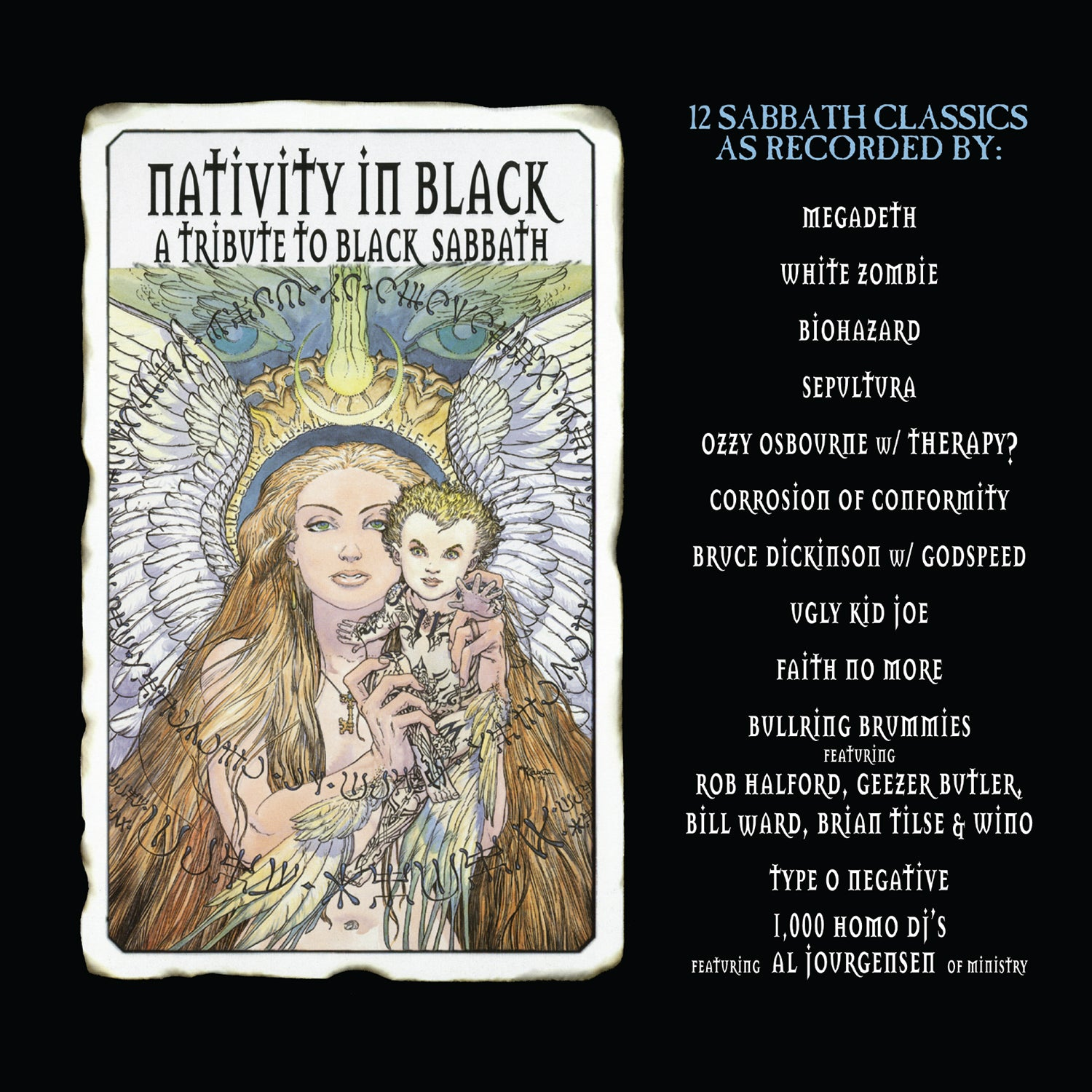 Various Artists - Nativity in Black (RSD 2020 Drop Two) 2LP Vinyl Record Album