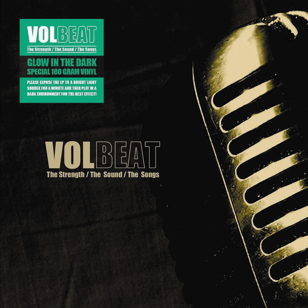 Volbeat - The Strength, The Sound, The Songs Limited Edition Glow In The Dark Colour Vinyl Record Album