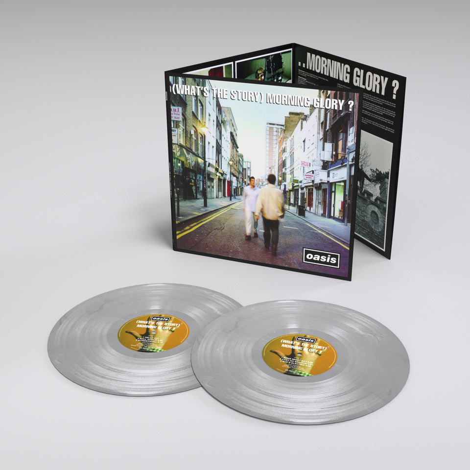 Oasis - (What's The Story) Morning Glory? (25th Anniversary) 2LP 180g Limited Edition Silver Colour Vinyl Record Album