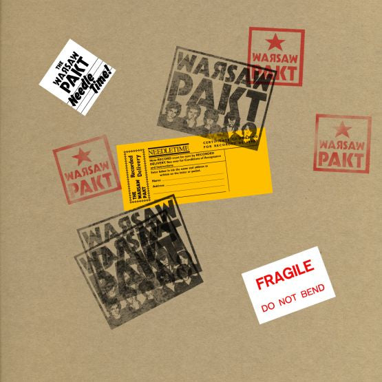 Warsaw Pakt - Needle Time (RSD 2020 Drop One) Vinyl Record Album + 7""