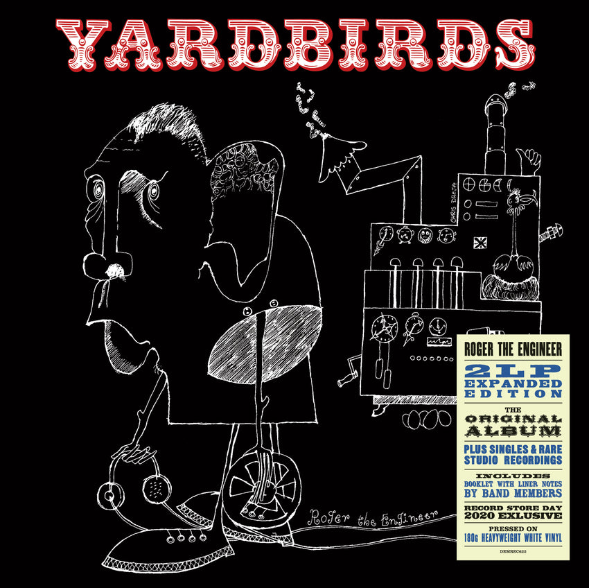 The Yardbirds - Roger The Engineer Expanded Edition (RSD 2020 Drop Two) 2LP 180g White Colour Vinyl Record Album