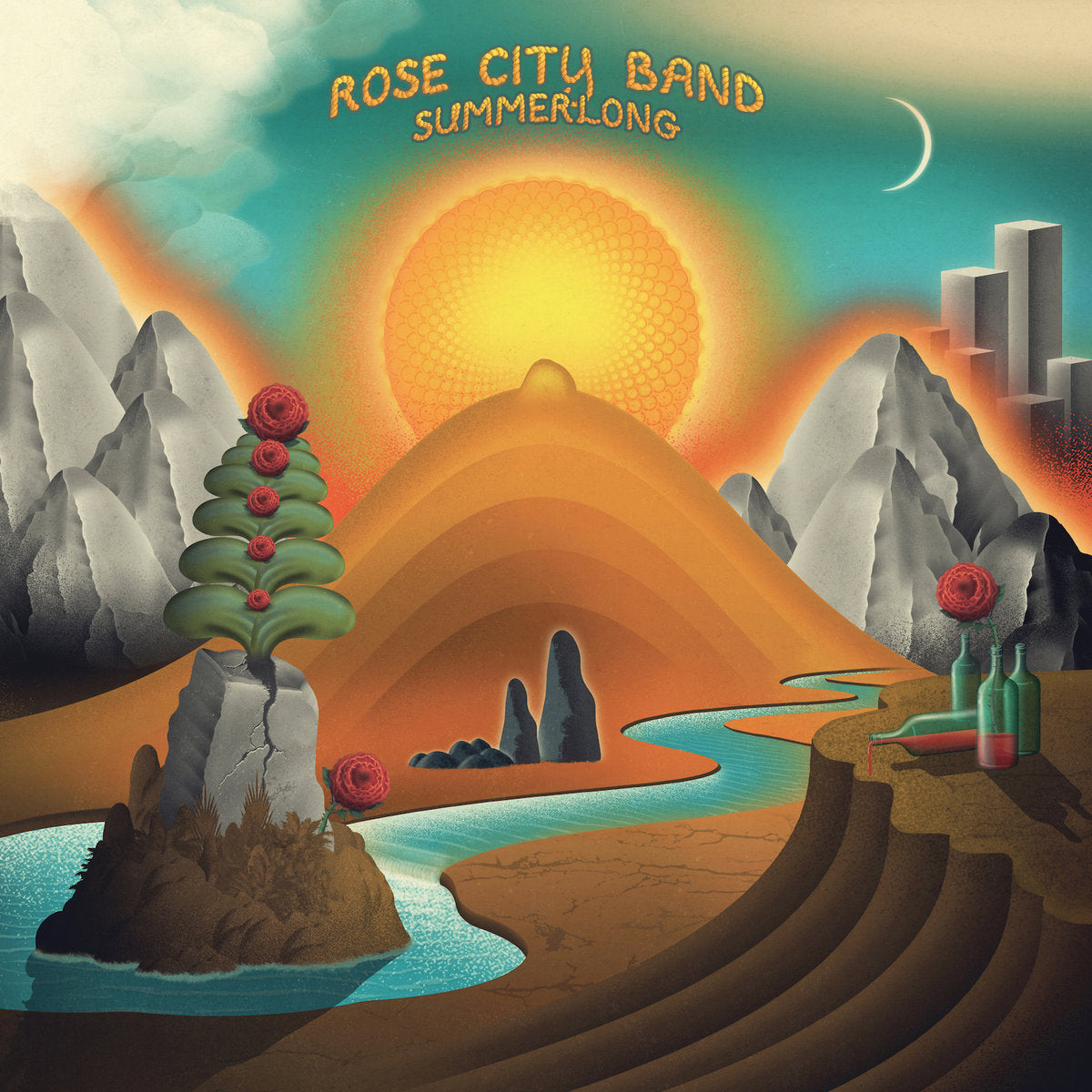 Rose City Band - Summerlong (Love Record Stores) Limited Edition Buttercup Colour Vinyl Record Album