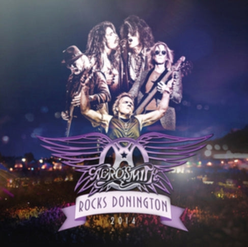 Aerosmith - Rocks Donington 2014' 3LP Colour Vinyl Record Album + DVD