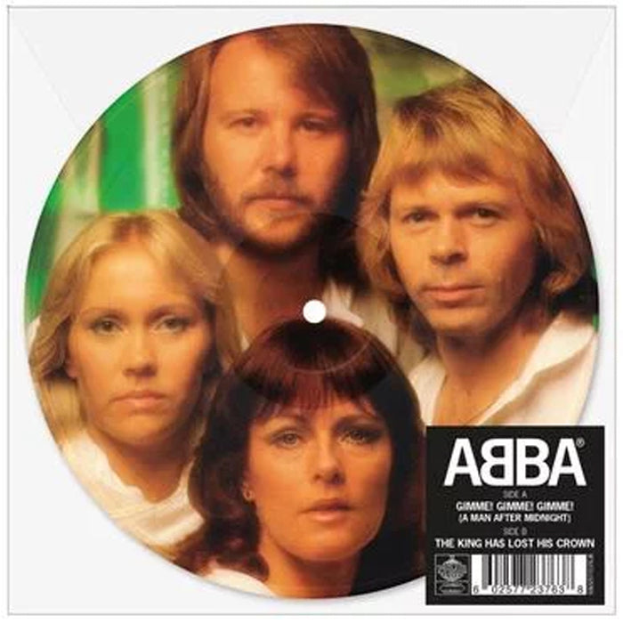 "ABBA ‎– Gimme! Gimme! Gimme! 7"" Picture Disc Vinyl Record, Vinyl, X-Records"