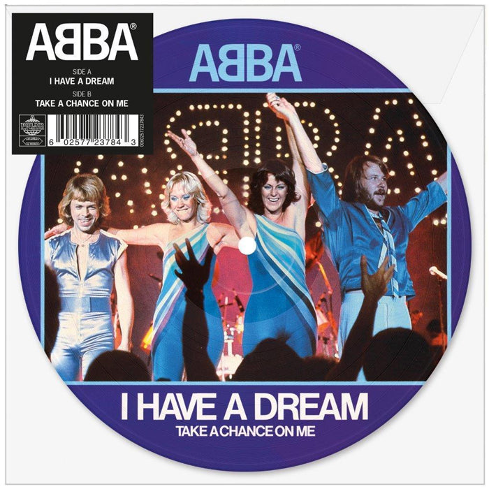 "ABBA ‎– I Have A Dream 7"" Picture Disc Vinyl Record, [product_type], X-Records"