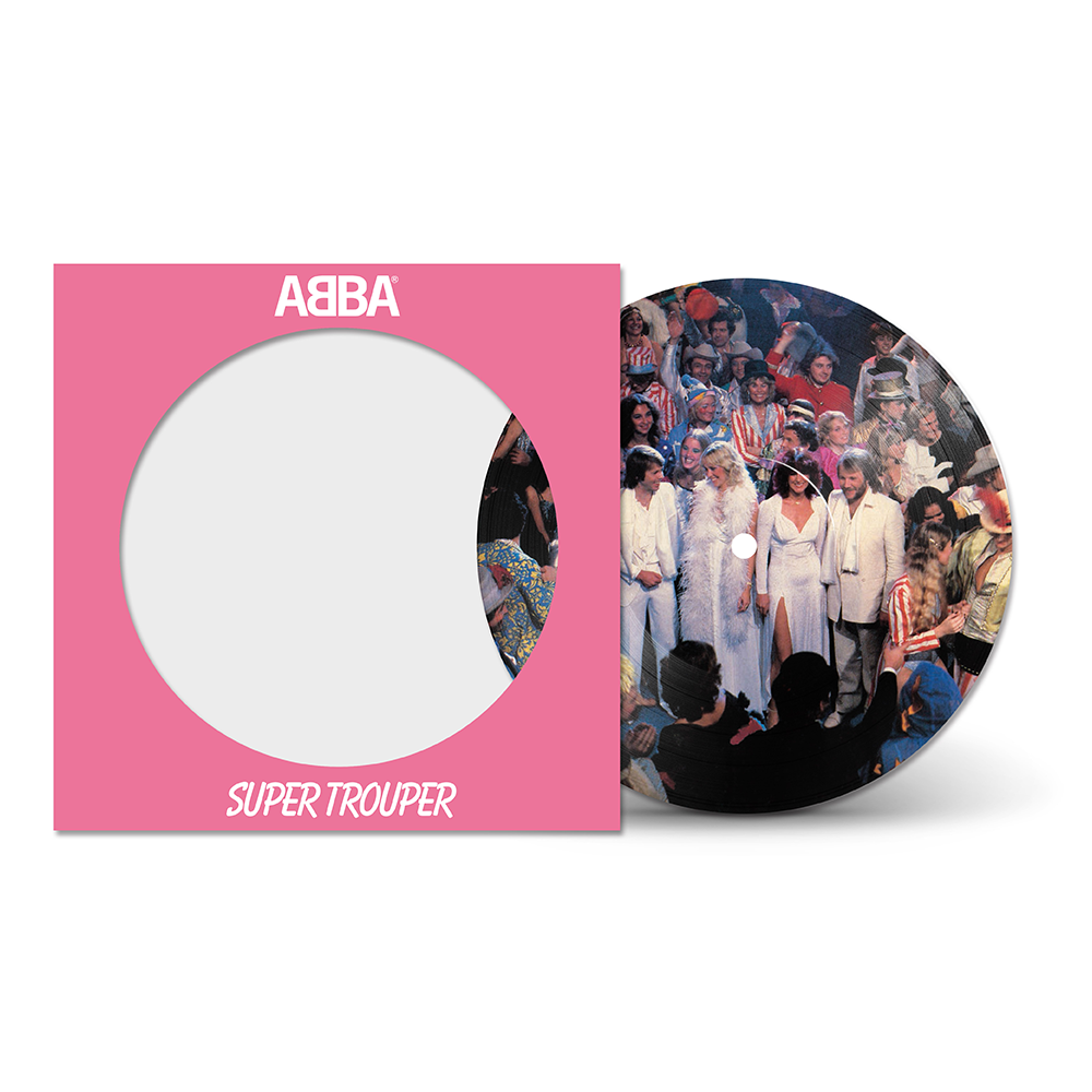"ABBA - Super Trouper Picture Disc 7"" Vinyl Record"