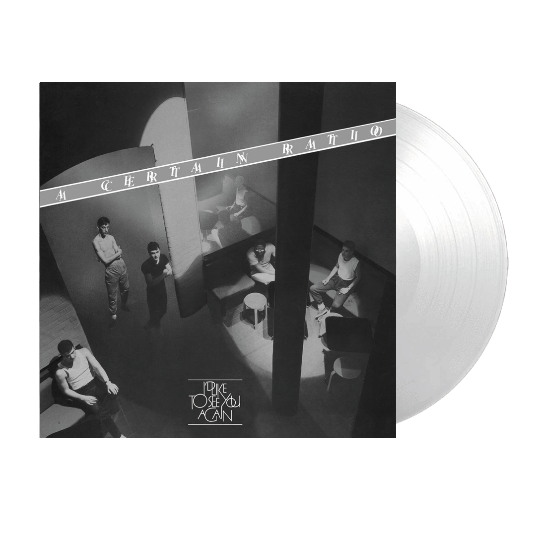 A Certain Ratio - I'd Like To See You Again Limited Edition White Vinyl Record Album
