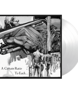 A Certain Ratio - To Each Limited Edition White Colour Vinyl Record Album