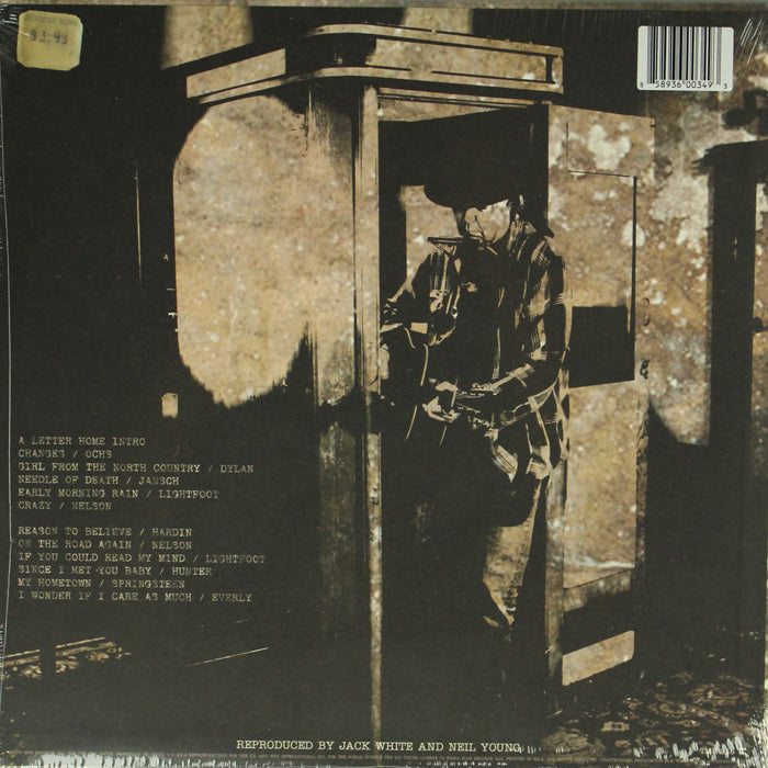 Neil Young ‎– A Letter Home Vinyl Record