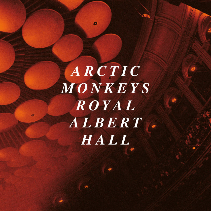 Arctic Monkeys - Live At The Royal Albert Hall 2LP Heavyweight Clear Colour Vinyl Record Album