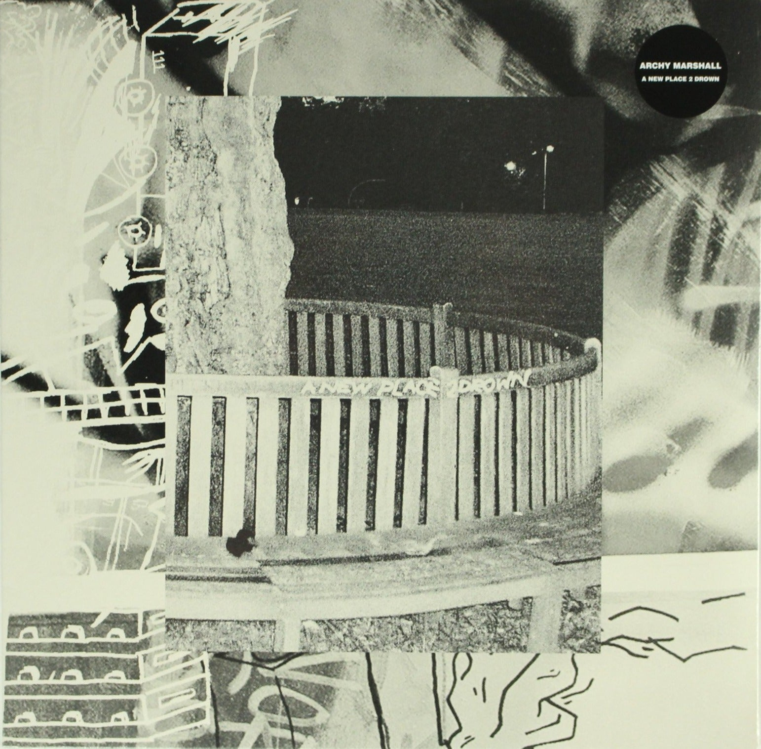 "Archy Marshall ‎– A New Place 2 Drown 12"" Vinyl Record"