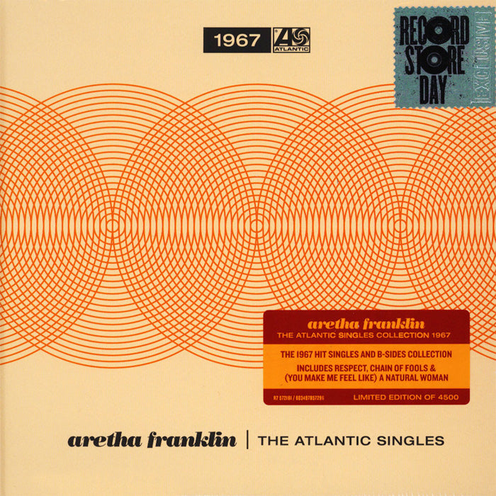 "Aretha Franklin - The Atlantic Singles Collection 1968 (RSD Black Friday) 4 x 7"" Vinyl Record Boxset"