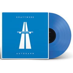 Kraftwerk - Autobahn Limited Edition Translucent Blue Colour Vinyl Record Album