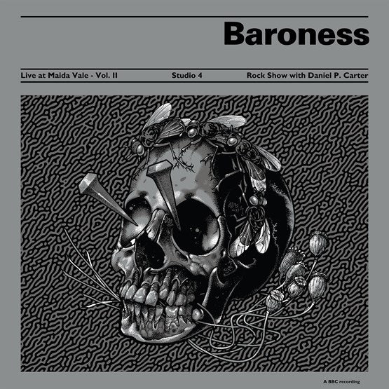 Baroness - Live at Maida Vale BBC - Vol. II (RSD 2020 Black Friday) Etched Splatter Colour Vinyl Record