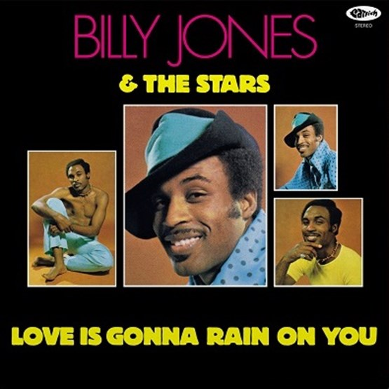 Billy Jones & The Stars - Love Is Gonna Rain On You (RSD 2020 Black Friday) 180g Yellow Colour Vinyl Record